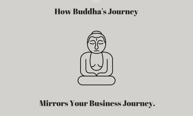 How Buddha's Journey Mirrors Your Business Journey.
